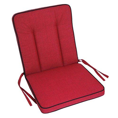 OUTLIV. Niederlehnerauflage rot für Romeo / Rosanna Sitzauflage
