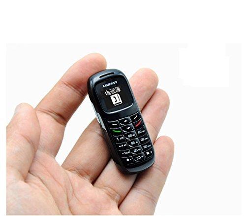 l8star BM70World 's Smallest Phone 2017by jjabarga insw orld (White) Bluetooth de auricular Voice Changer de Beat the boss de Tiny de Small de Kids Toy de Button Phone de SIM FREE de Unlocked de Cheap de Very Small And Compact (White)