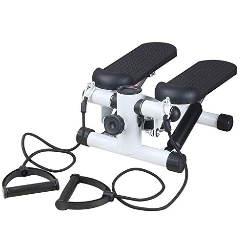GLxlsbz Step Fitnessgeräte Fitnessgeräte,Mini Stepper, Up-Down Stepper, Stepper-Maschine mit Training,Home Indoor Swing Sport Portable Mute Multifunktion Mini Stepper -