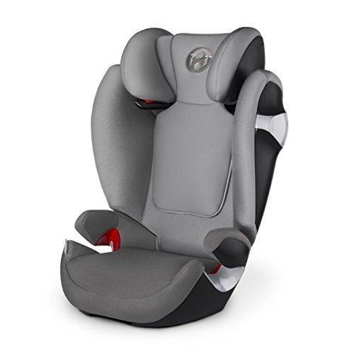 Preisvergleich Produktbild Cybex Gold Solution M, Autositz Gruppe 2/3 (15-36 kg), Kollektion 2017, manhattan grey, ohne Isofix