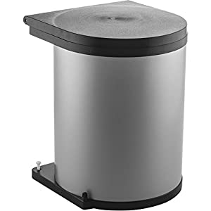 Wesco 010 212 Installation The Round Bucket 13 L Silver/Black