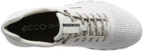 1007 Bianco Ecco 0 2 Fresco Uomo Sneakers dritton Basse Bianco G5 avaqw86
