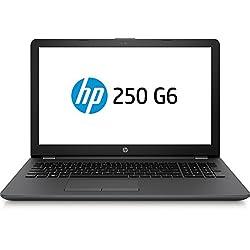 """HP 250 G6 Notebook, Intel Celeron N3350, 4 GB di RAM, SATA da 500 GB, Schermo HD da 15.6"""" 1366 x 768, Argento"""
