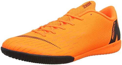 NIKE Unisex-Erwachsene VAPORX 12 Academy IC Fußballschuhe, Orange Total/Vert Volt/Blanc 810, 44 EU