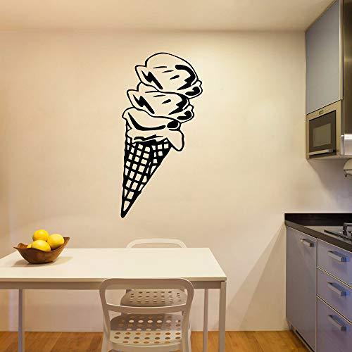 Adesivo per gelato HNXDP Carta da parati in vinile impermeabile Decorazioni per la casa Adesivi in   vinile Camera da letto Decorazione vivaio Oro M 30 cm X 60 cm