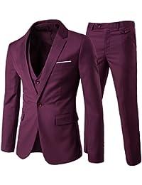 Amazon.es  Rojo - Trajes y blazers   Hombre  Ropa 44620769c63a
