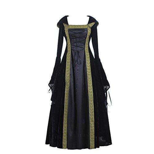 Cosplayitem Mittelalterliches Viktorianischen Kleid Schnüren Sich Oben Herrliches Ballkleid Drei Farben