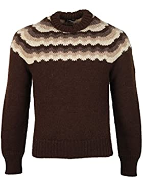 CL - TOM FORD Brown Crew Neck Sweater Size 48 / 38R U.S. In Wool