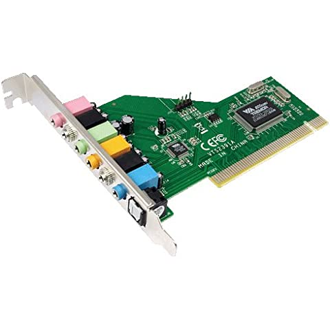 LogiLink PC0043A - PCI Soundcard con 8CH
