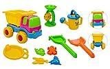 Sandkasten-Set für Kinder - Auch für den Strand - 10 Teile