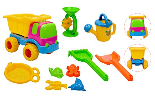 Inside Out Toys Set di giochi da spiaggia per bambini (10 pezzi)