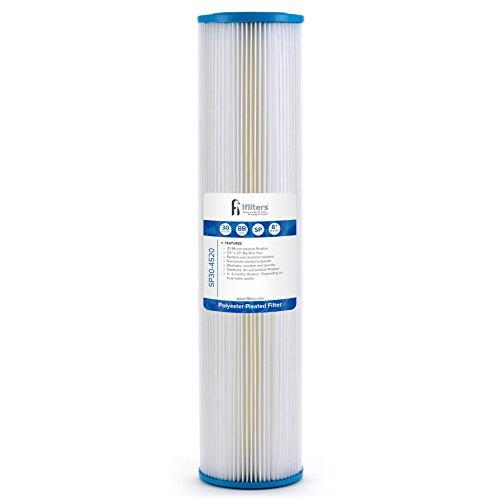 Sediment Bundfaltenhose Wasser Filter City Oder Auch, Wasser, Waschbar 11,4x 50,8cm 30Mikron (Culligan-wasser-filter)