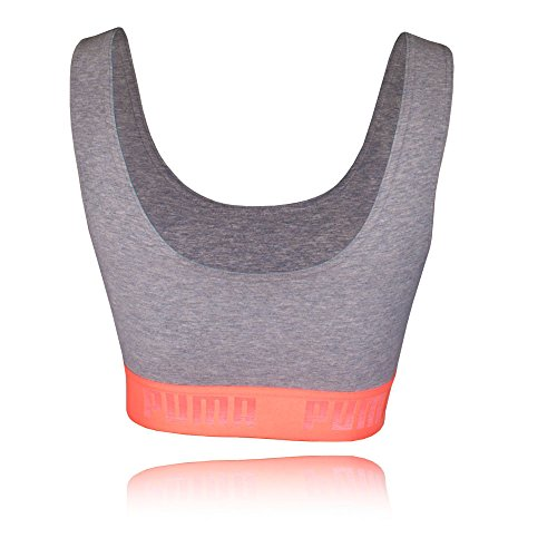 Puma Active Essentials Banded Women's Crop Top - AW17 Grey