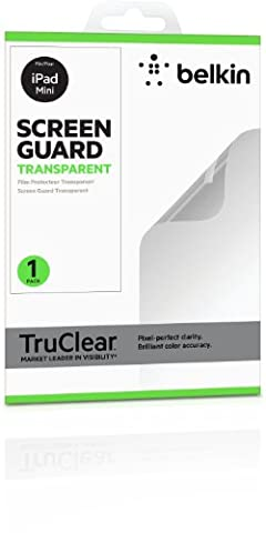 Belkin transparente TrueClear Displayschutzfolie (geeignet für iPad Mini 1-3)