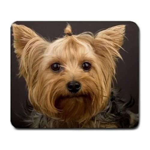 Yorkshire Terrier Yorkie Dog Lover Mouse Mat Pad Mousepad -