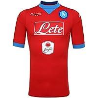 Third Napoli jersey Red Flame-Azure 15 16 Naples Kappa 54aea820985e9
