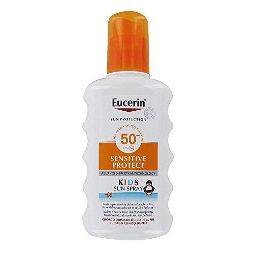 Eucerin - UV-Sonnenspray für Kinder - Sensitive Protect SPF50+