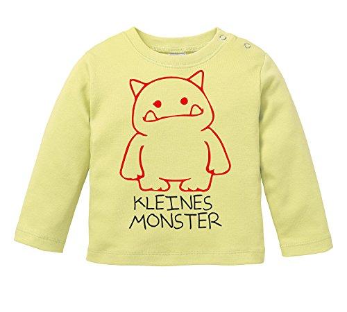 Gruselig Mädchen Sind (Kleines Monster - Mit niedlichem Monster als Motiv - Bio Baby)