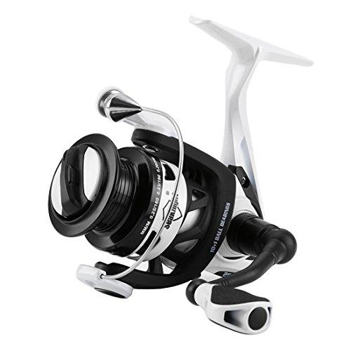 SeaKnight PH Spinning Angelrolle, Metallgehäuse und Karbon-Rotor. 6,2:1 mal schneller und stärker, mit Metall-Ersatzspule., Reel-Phantom2000H