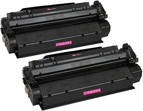 2 INK INSPIRATION® Premium Toner für HP Laserjet 1000 1005 1200 1220 1300 3080 3300 3310 3320 3330 3380 Canon LBP-1210 LBP-558 | kompatibel zu HP C7115X & Q2613X & Canon EP-25 | 3.500 Seiten -