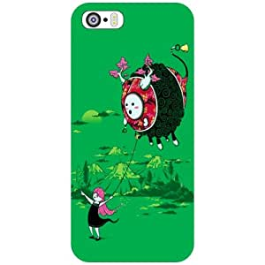 Apple iPhone 5S Back Cover - Hip Hip Hurray Designer Cases