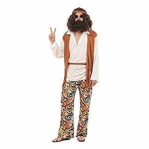 Hippy Man Budget costume Adult Fancy Dress