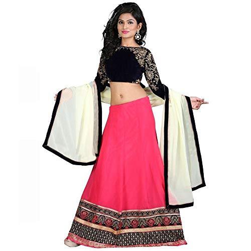 S R FASHION Women\'s Royal Pink Lehenga Choli For Girls (SRF_RPC)