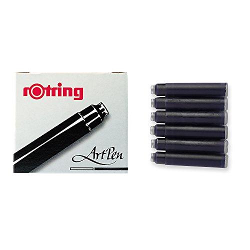 rotring-artpen-cartuccia-x-6-nero