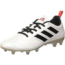 adidas Ace 17.4 FG, Botas de fútbol para Mujer, Blanco (FTWR White Black/Core Red), 38 2/3 EU