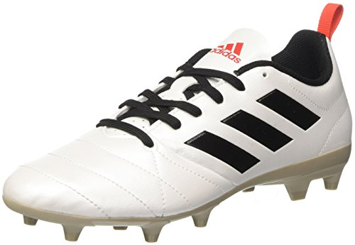 adidas Damen Ace 17.4 Fg Fußballschuhe, Weiß (Ftwr White / Core Black / Core Red), 41 1/3 EU