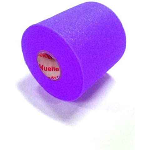 Pre-wrap - Colored Mwrap - Underwrap Case of 48 Rolls (Purple) by MWRAP - Mueller Pre Wrap