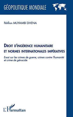 Droit d'ingérence humanitaire et no...