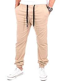 Reslad Chino-Hose Freizeithose Herren Chino Jogginghose   Super bequem ✓ Top Qualität✓  Moderne Stoffhose für Männer   Leichte Sommer-Hose