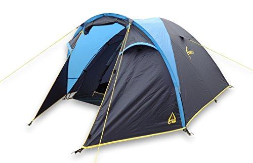 Best Camp, Tenda da Campeggio Harvey 3, Blu (Blau)