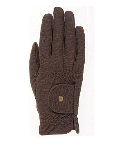 Roeckl Sports -Roeck Grip Junior- Handschuh, Kinder Reithandschuh, Mokka, 4