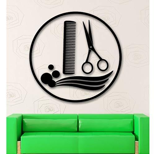 Dalxsh strumenti di trucco della ragazza cosmetici salone di bellezza murale sticker murale salone di bellezza camera da letto decorazione domestica57x57cm