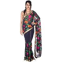 Rajarams Casual Wear Floral Print Pure Handloom