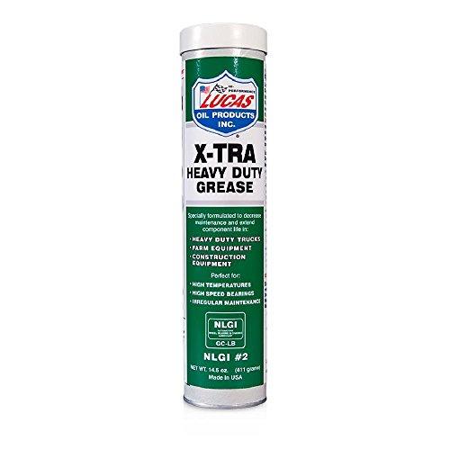 Lucas Oil 10301 Extra Hochleistung Schmierfett Patrone -