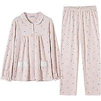 73052dd05 DUKUNKUN Pijamas para Mujer Algodón Lindo Pijamas De Manga Larga para El  Hogar Traje para Mujer