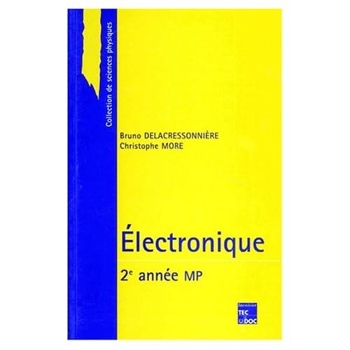 Électronique : 2e année MP