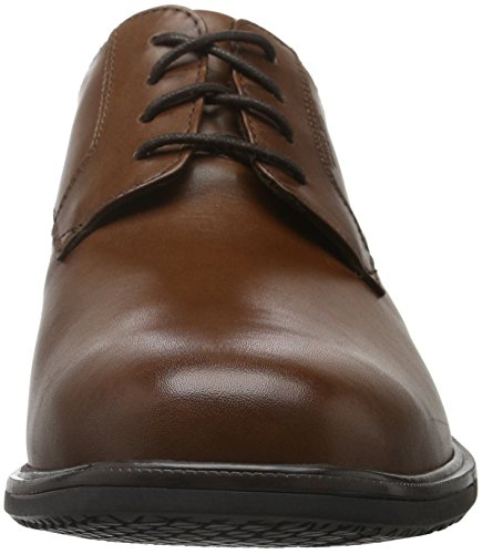 Rockport - Essential Details Ii Plain Toe, Scarpe basse Uomo Brown (Tan Antique Leather)