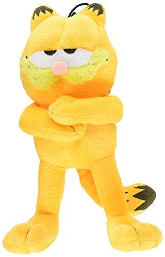 Von Multipet Classic Offizielles Lizenzprodukt Plüsch Garfield Quietschen Spielzeug für Hunde, Sortiert, 25,4cm -