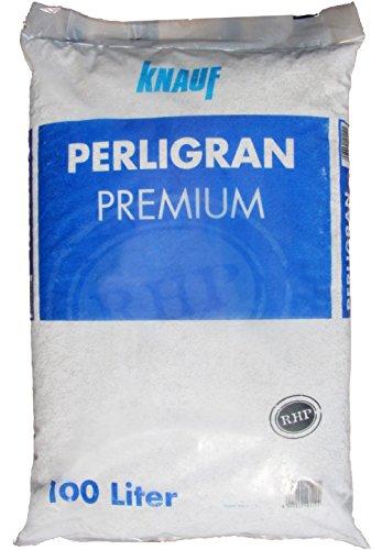 Knauf Gartenbau Perlite Perligran 2-6 mm 100 L • zur Erden- und Substratverbesserung • für optimale Luft- und Wasserführung