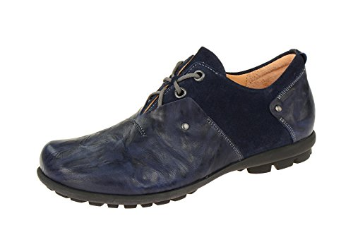 Think Kong, Scarpe Stringate Uomo Blu scuro