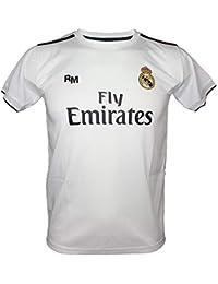 ed90f10d51209 Camiseta Adulto - Personalizable - Primera Equipación Replica Original Real  Madrid 2018 2019