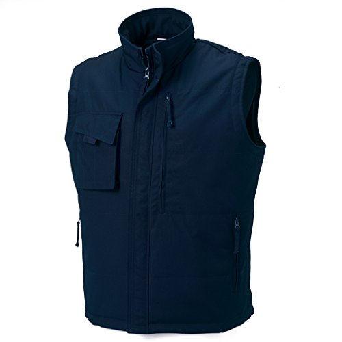MAKZ - Manteau sans manche - Homme Bleu Marine