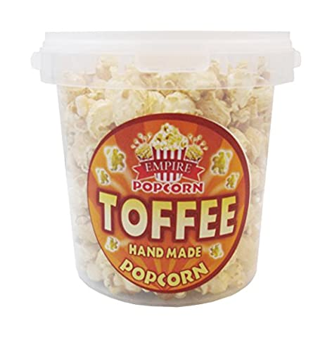 Delicious Gourmet Toffee Popcorn 1.2 Litre Tub