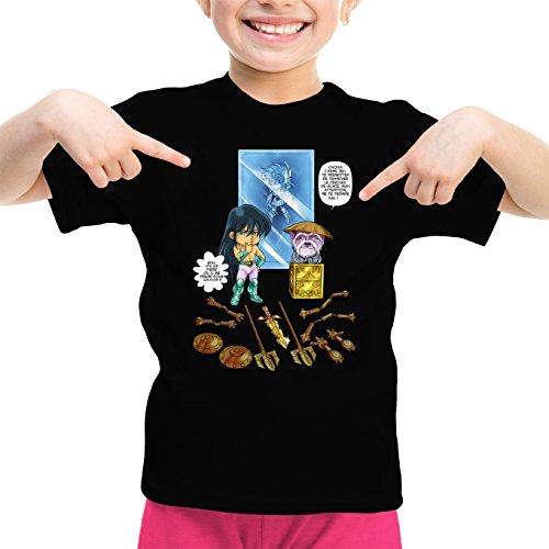 T-Shirts Saint Seiya - Les Chevaliers du Zodiaque parodique Shiryu du Dragon Dohko Chevalier d'or de la Balance : Un Choix très Difficile. (Parodie Saint Seiya - Les Chevaliers du Zodiaque)