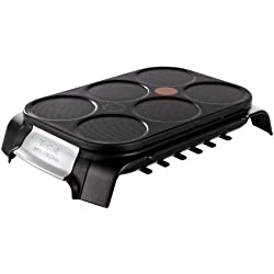 Tefal Crep Party Inox & Design PY558813 - Crepera de Acero Inoxidable