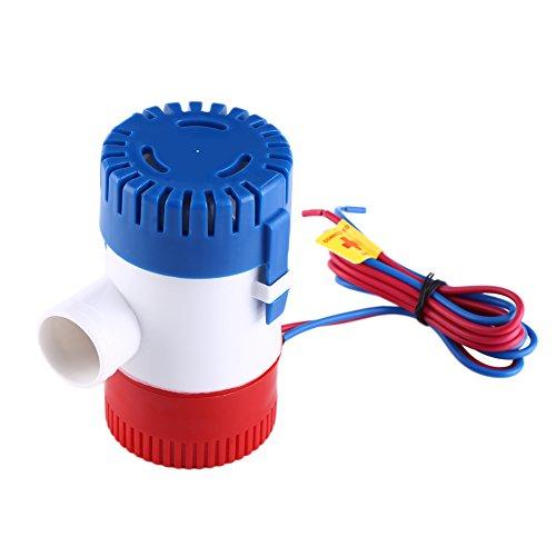 Zerone Pumpe von Bilgenwasser, 1100GPH Pumpe von Bilg… | 00763741612573
